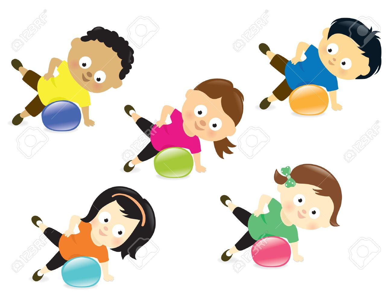 Fit kids clipart svg transparent download 1,042 Good Fit Stock Vector Illustration And Royalty Free Good Fit ... svg transparent download