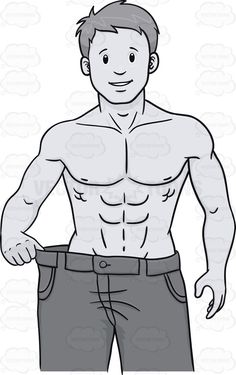 Fit man clipart image free stock Big Muscular Man Bending A Bar Of Metal | Strength, Vector clipart ... image free stock