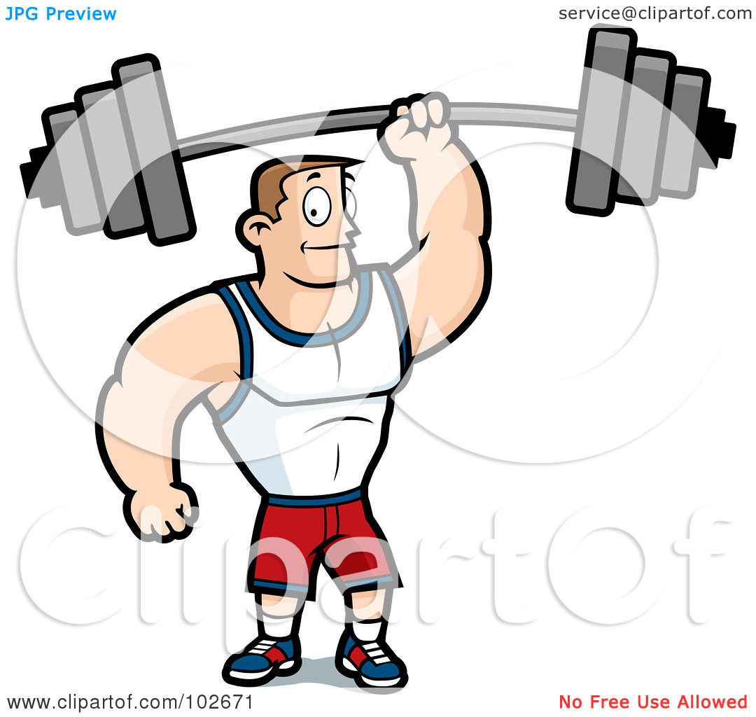 Fit man clipart vector freeuse Fit man clipart - ClipartFest vector freeuse