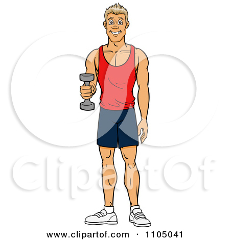 Fit man clipart graphic library Royalty-Free (RF) Fit Man Clipart, Illustrations, Vector Graphics #1 graphic library