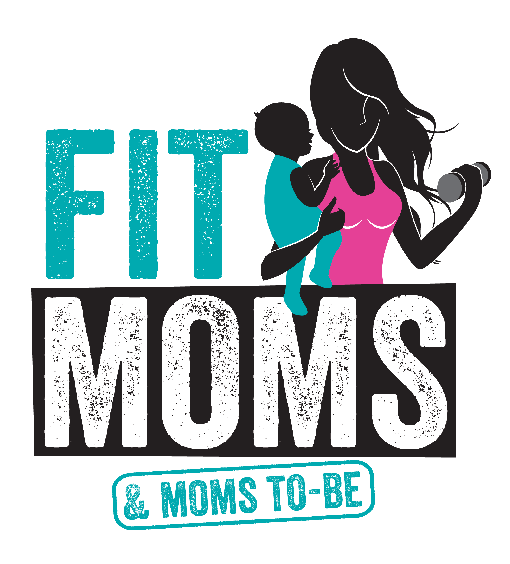 Fit mom clipart png black and white library Fit Moms & Moms-To-Be FUN RUN! - San Antonio, TX 2015 | ACTIVE png black and white library