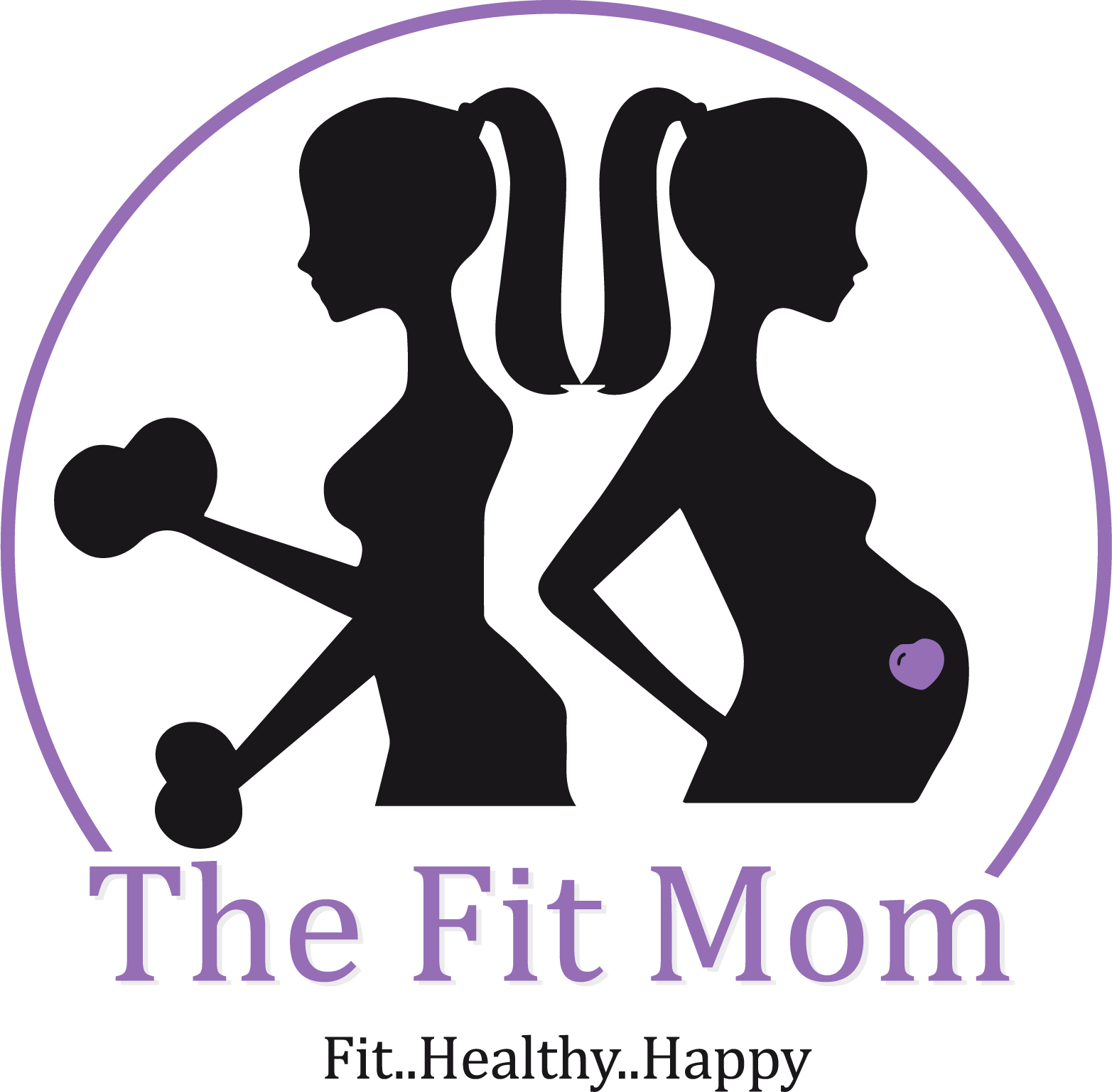 Fit mom clipart clip royalty free stock No Mommy Tummy | Get Inspired clip royalty free stock