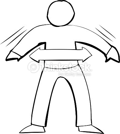 Fit person clipart jpg free library Outline Symbol Of Fit Person Vector Art | Thinkstock jpg free library
