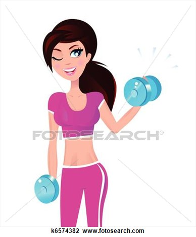 Fit woman clipart svg freeuse download Fit Woman Clipart svg freeuse download