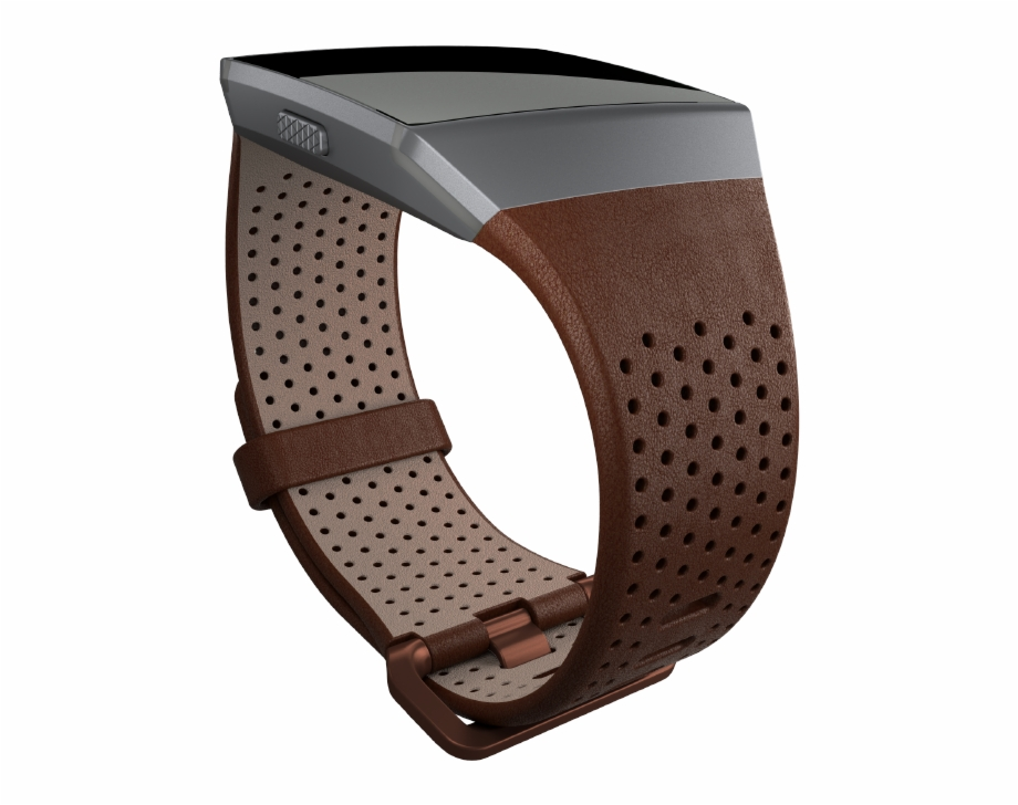 Leather strap free png. Fitbit ionic clipart