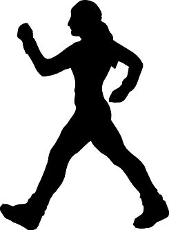 Fitness walking clipart graphic library stock Fitness Walking Cliparts - Cliparts Zone graphic library stock