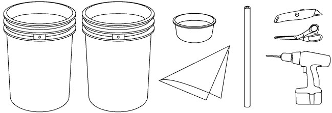 Five gallon bucket clipart black and white clip Free Bucket Drawing, Download Free Clip Art, Free Clip Art on ... clip