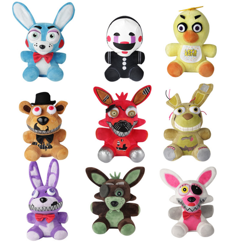 Five night at freddy s stuffed animals clipart.  nights funko fnaf