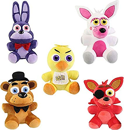 Five night at freddy s stuffed animals clipart. Funko collectible plush nights