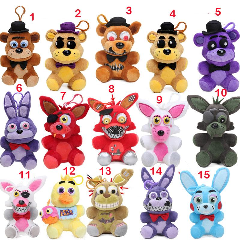 Five night at freddy s stuffed animals clipart.  pcs styles nightmare