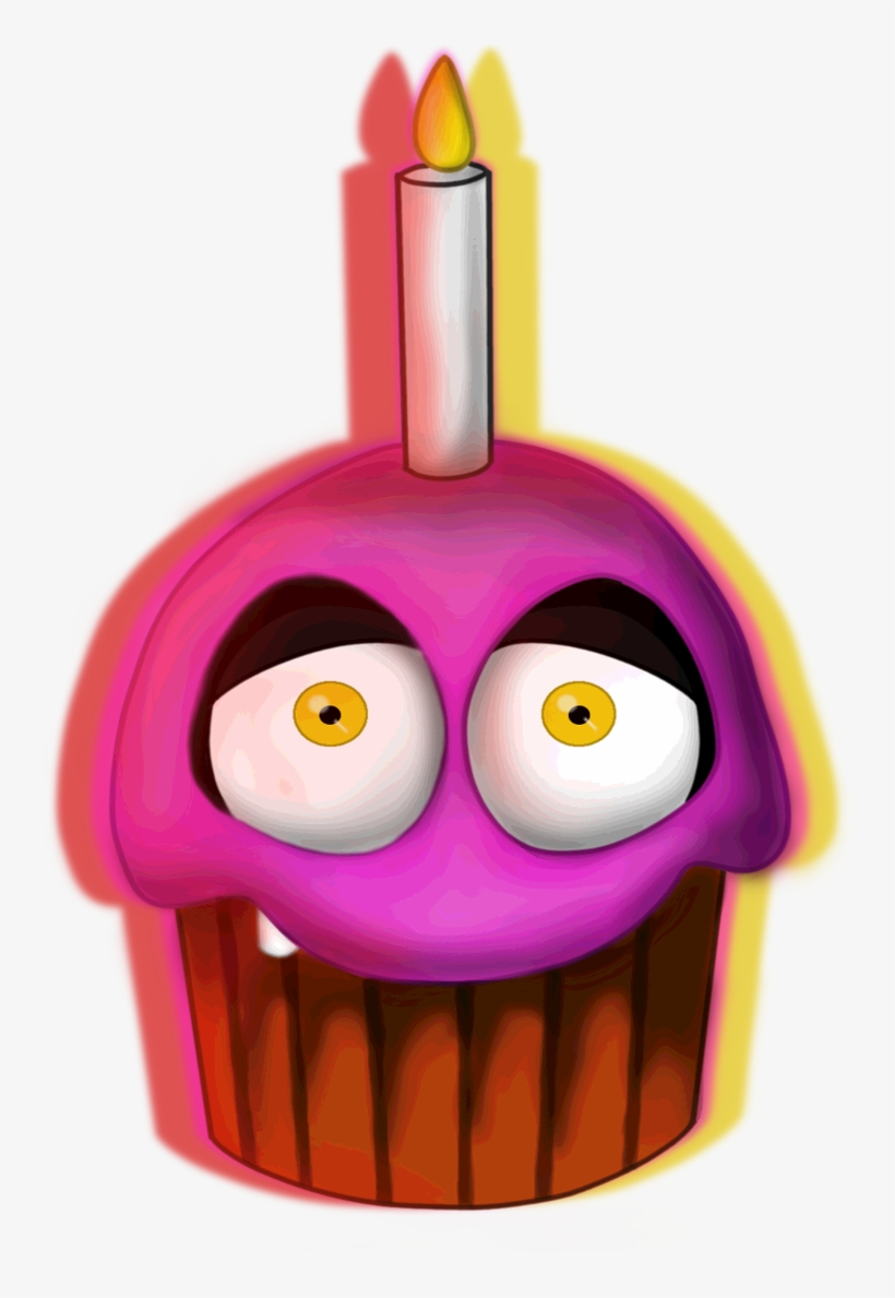 Five nights at freddy s chica s cupcake clipart