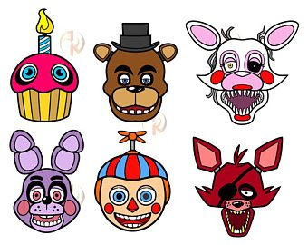 Five nights at freddys clipart. Freddy s images in