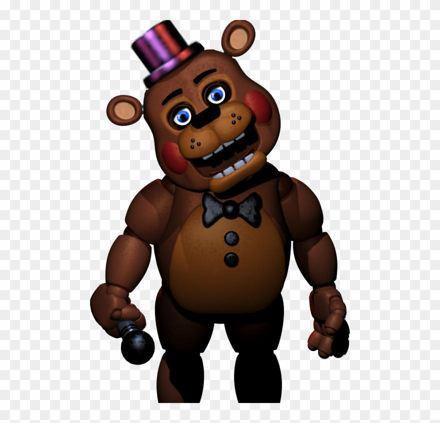 Five nights at freddys clipart. New age toy freddy