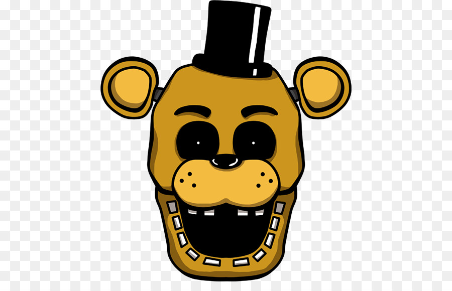 Five nights at freddys clipart. Smile icon yellow product