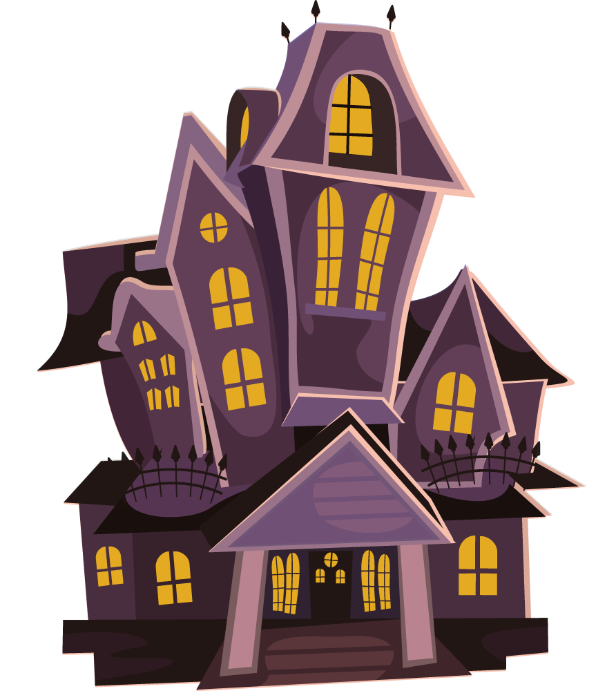 Five pieces make house cliparts jpg royalty free library Haunted house free to use clip art | Pics/Words/PNG in 2019 ... jpg royalty free library