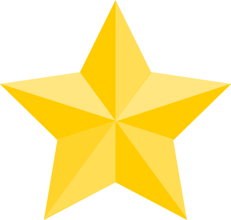 Five point star clipart clipart free stock Free star images to use in your design ⋆ Free Stock Images clipart free stock