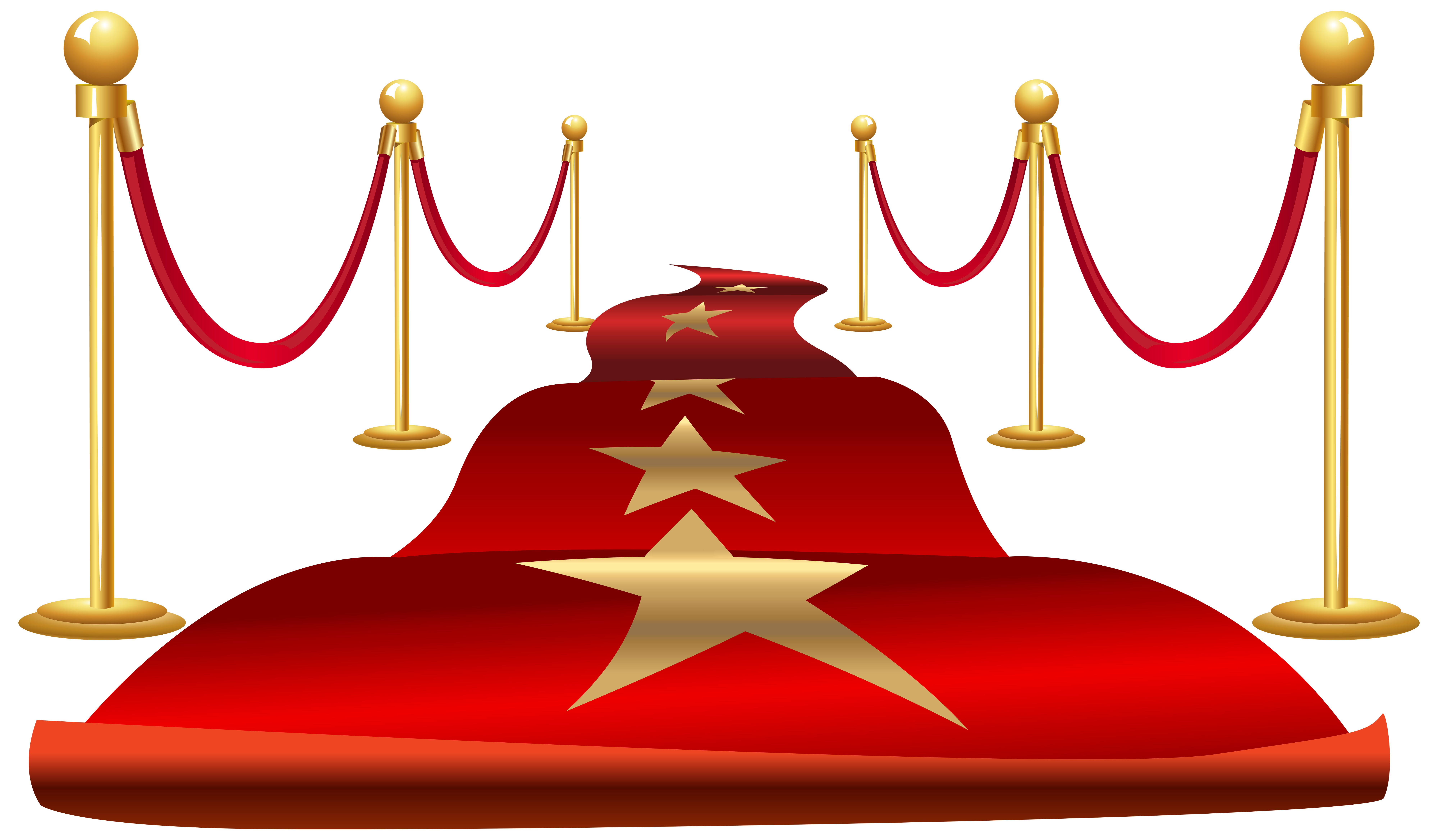 Five pointed star clipart vector download Red carpet Clip art - Cartoon five-pointed star red carpet 8000*4674 ... vector download