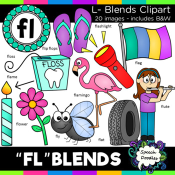 Fl clipart graphic free library L blends clipart - Fl words - 20 images! Personal and Commercial use graphic free library