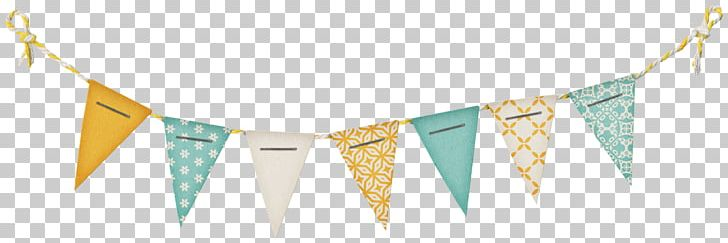 Flag banner yellow and gray png clipart. Paper bunting advertising