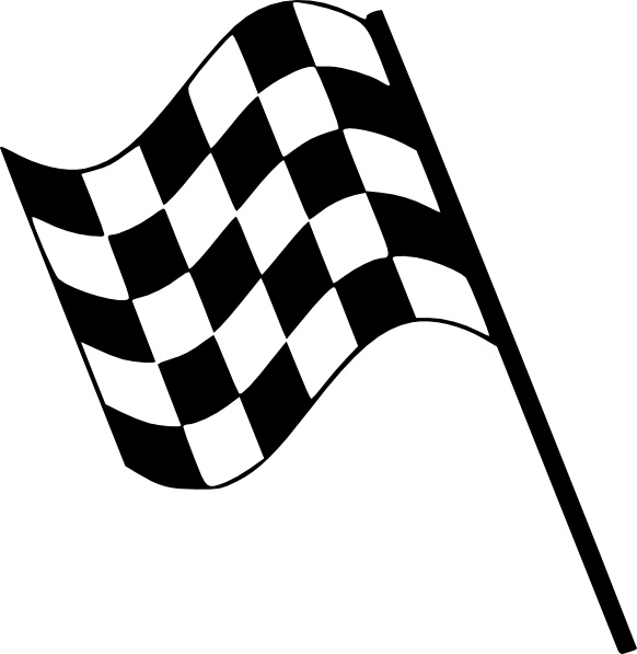 Flag clipart free download vector free download Checkered Flag clip art Free vector in Open office drawing svg ... vector free download