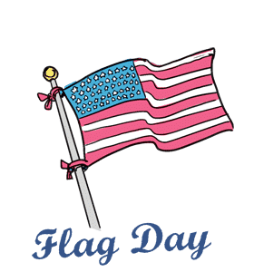 Flag day 2017 clipart jpg free The History of Flag Day | The Cleaning Genie jpg free