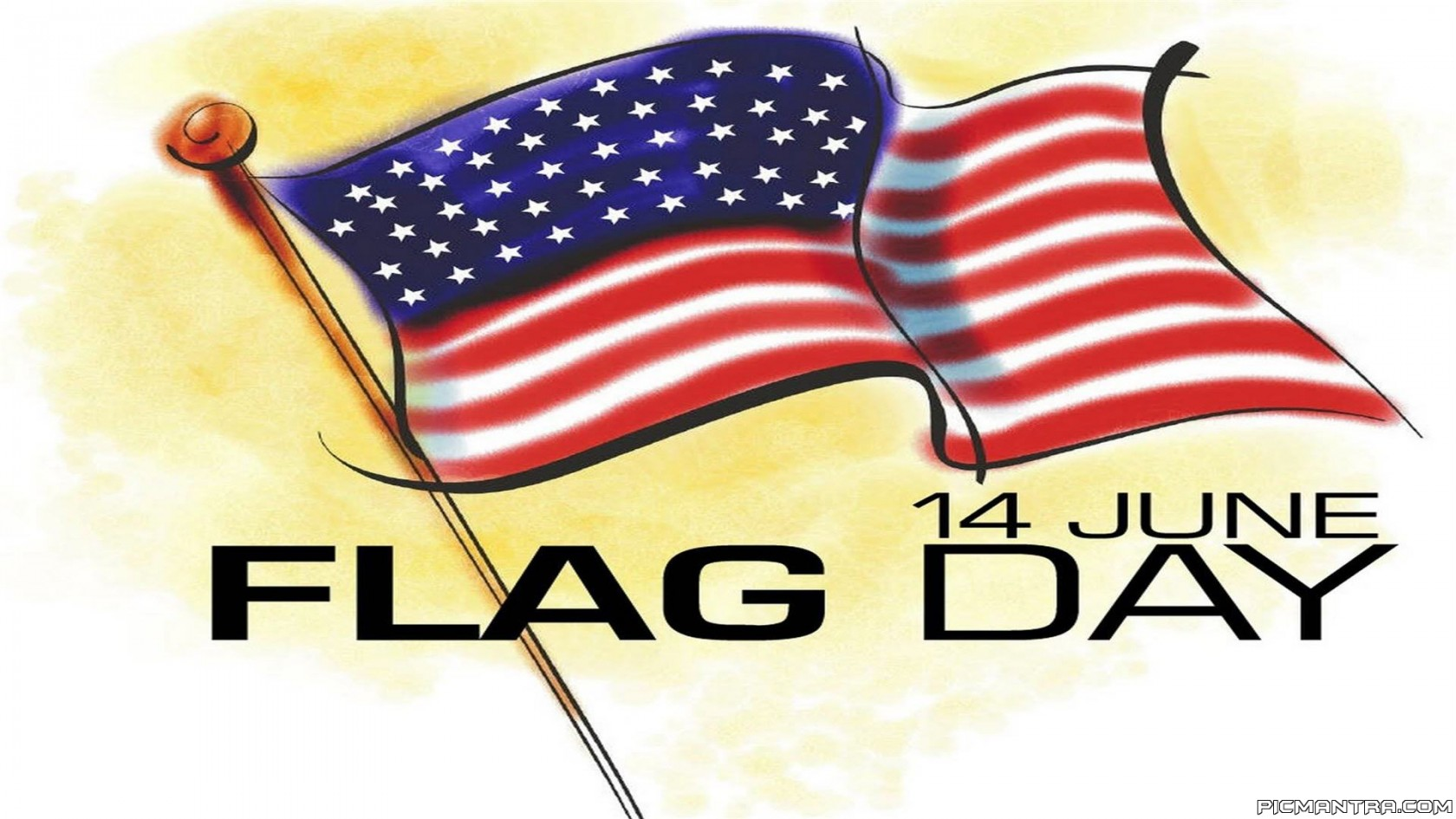 Flag day 2017 clipart svg royalty free download Flag Day United States – June 14 svg royalty free download