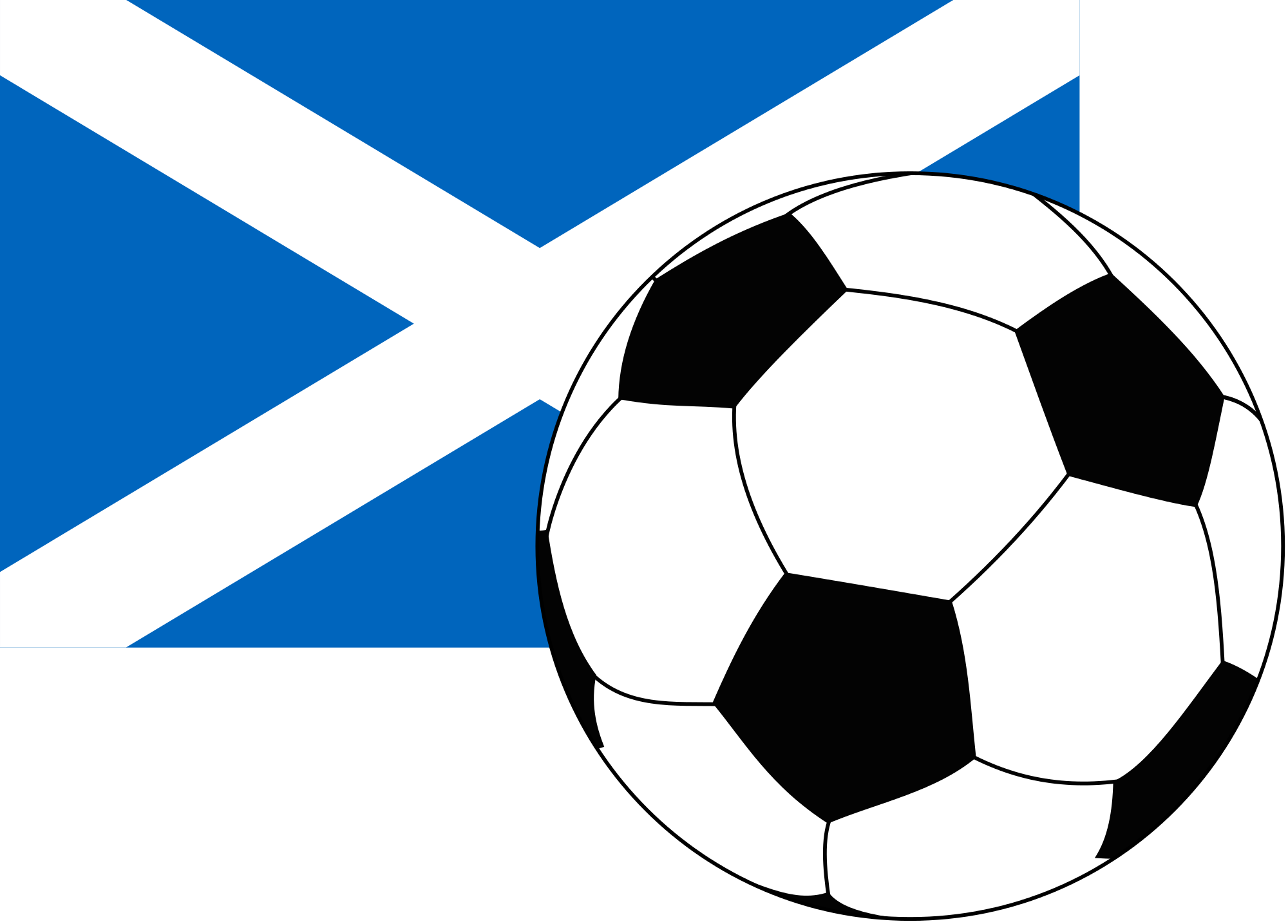 Flag football clipart clipart library File:Flag of Scotland with football.svg - Wikimedia Commons clipart library