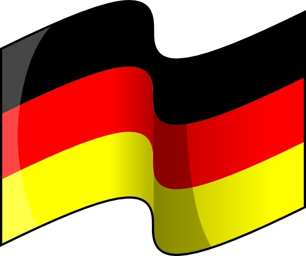 Flag germany clipart vector download Waving German Flag clip art Free vector in Open office drawing svg ... vector download