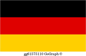 Flag germany clipart graphic transparent German Clip Art - Royalty Free - GoGraph graphic transparent