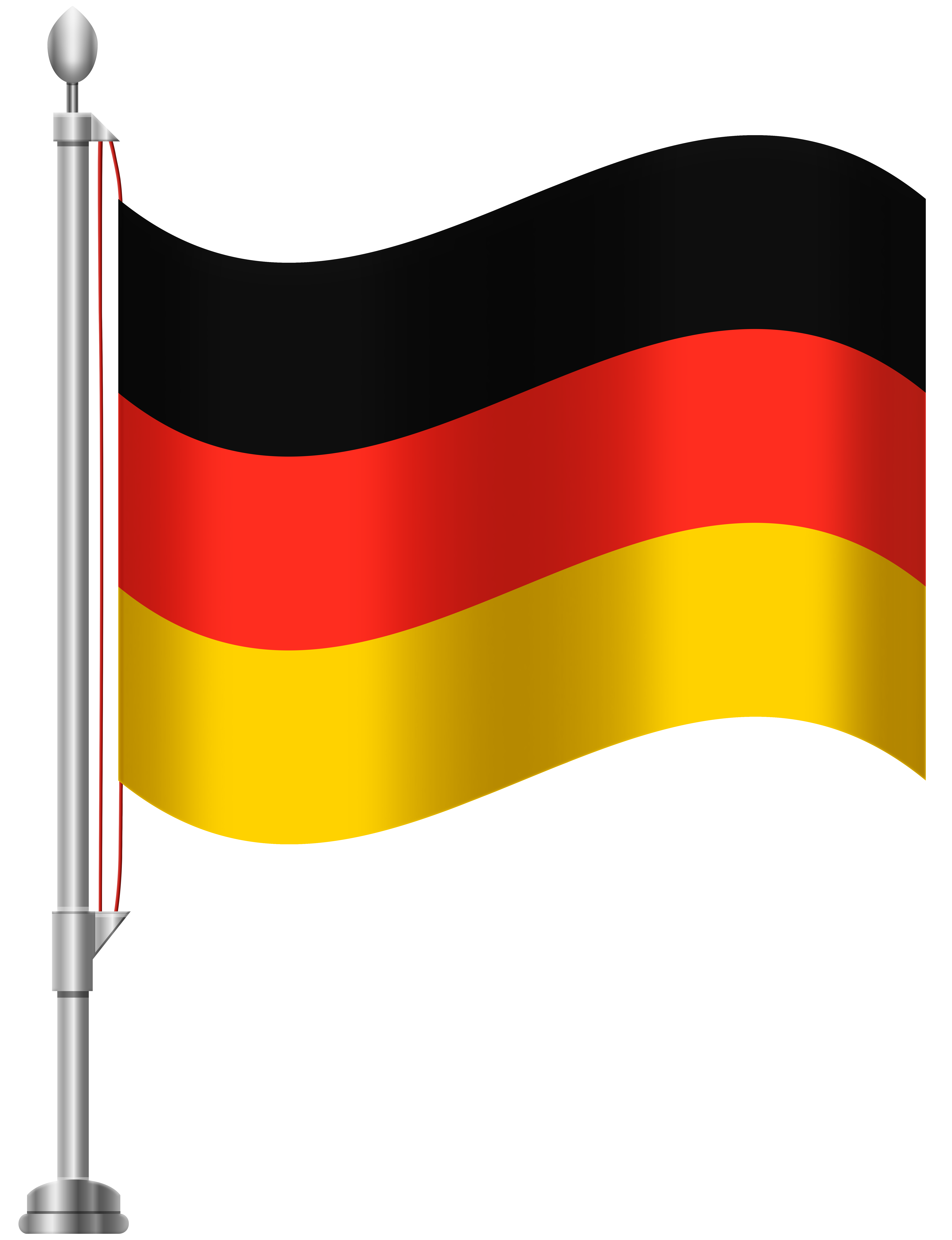 Clipart germany flag clip art royalty free library Germany Flag PNG Clip Art - Best WEB Clipart clip art royalty free library