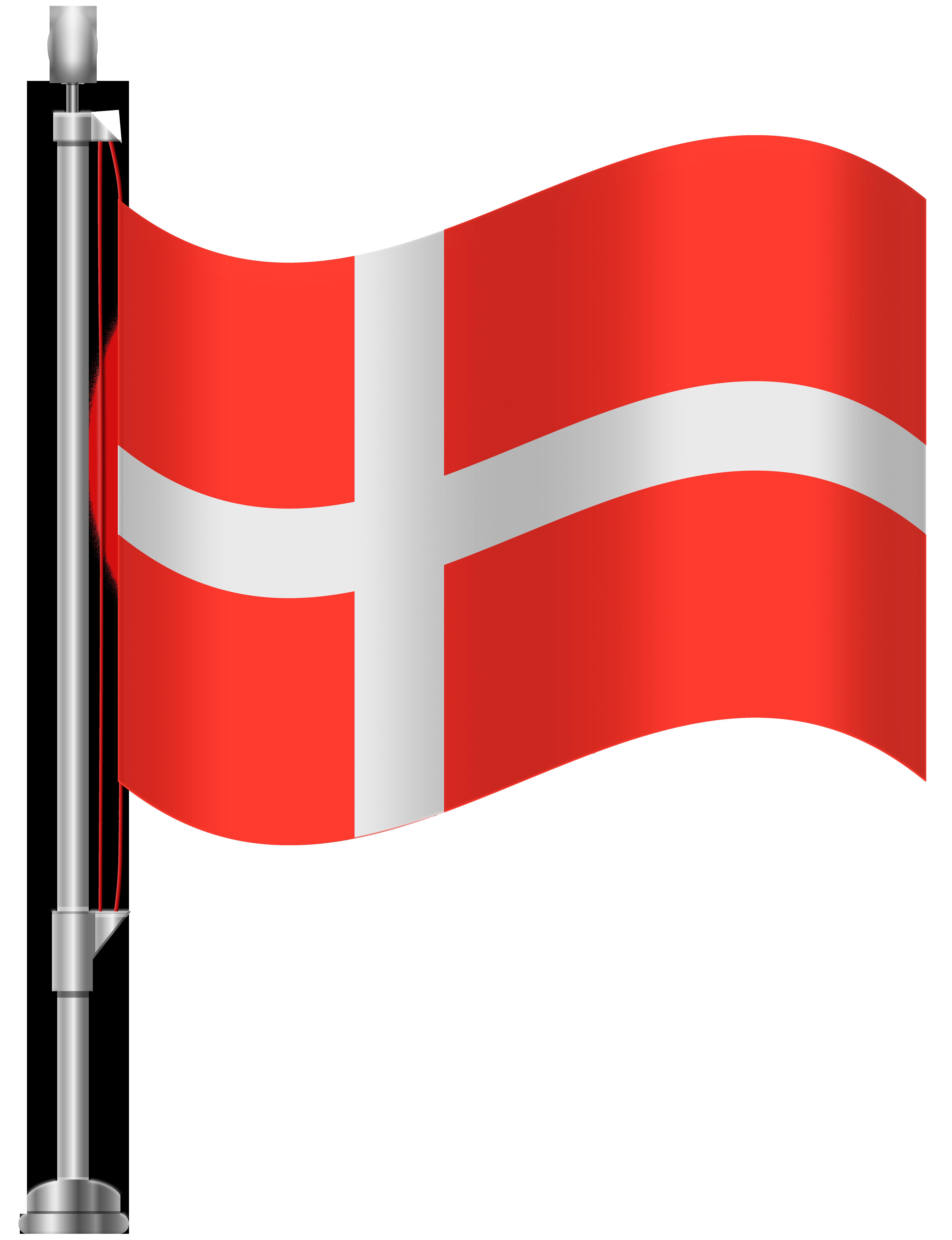 Denmark clipart image free stock Denmark Flag PNG Clip Art - Best WEB Clipart image free stock