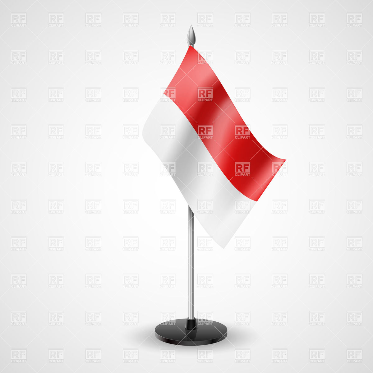 Flag of indonesia clipart banner State table flag of Indonesia Vector Image #30964 – RFclipart banner