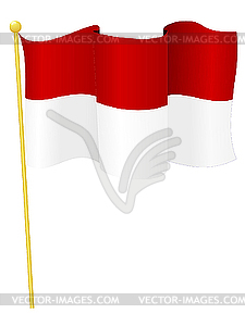 Flag of indonesia clipart svg Indonesia - vector clipart svg