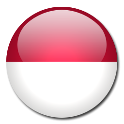 Flag of indonesia clipart picture black and white Button Flag Indonesia Icon, PNG ClipArt Image | IconBug.com picture black and white