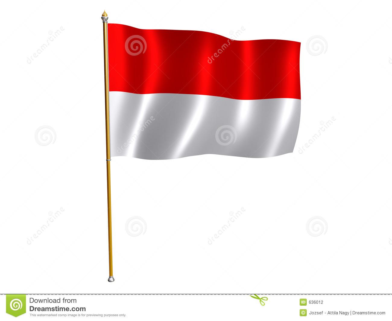 Flag of indonesia clipart graphic transparent download Flag of indonesia clipart - ClipartFest graphic transparent download