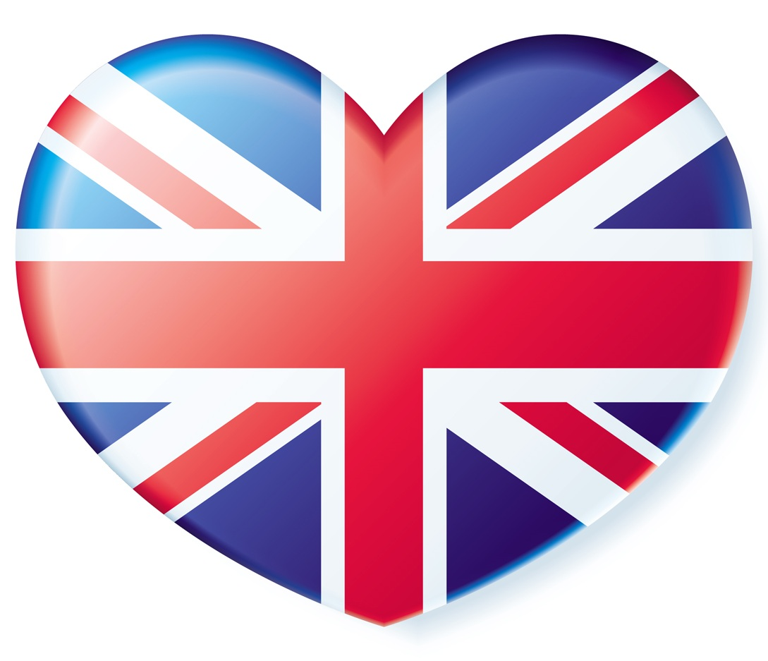Flag of united kingdom clipart graphic black and white stock Uk flag heart clipart - ClipartFest graphic black and white stock