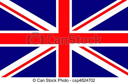 Flag of united kingdom clipart graphic free Vector Illustration of England - United Kingdom Of Great Britain ... graphic free