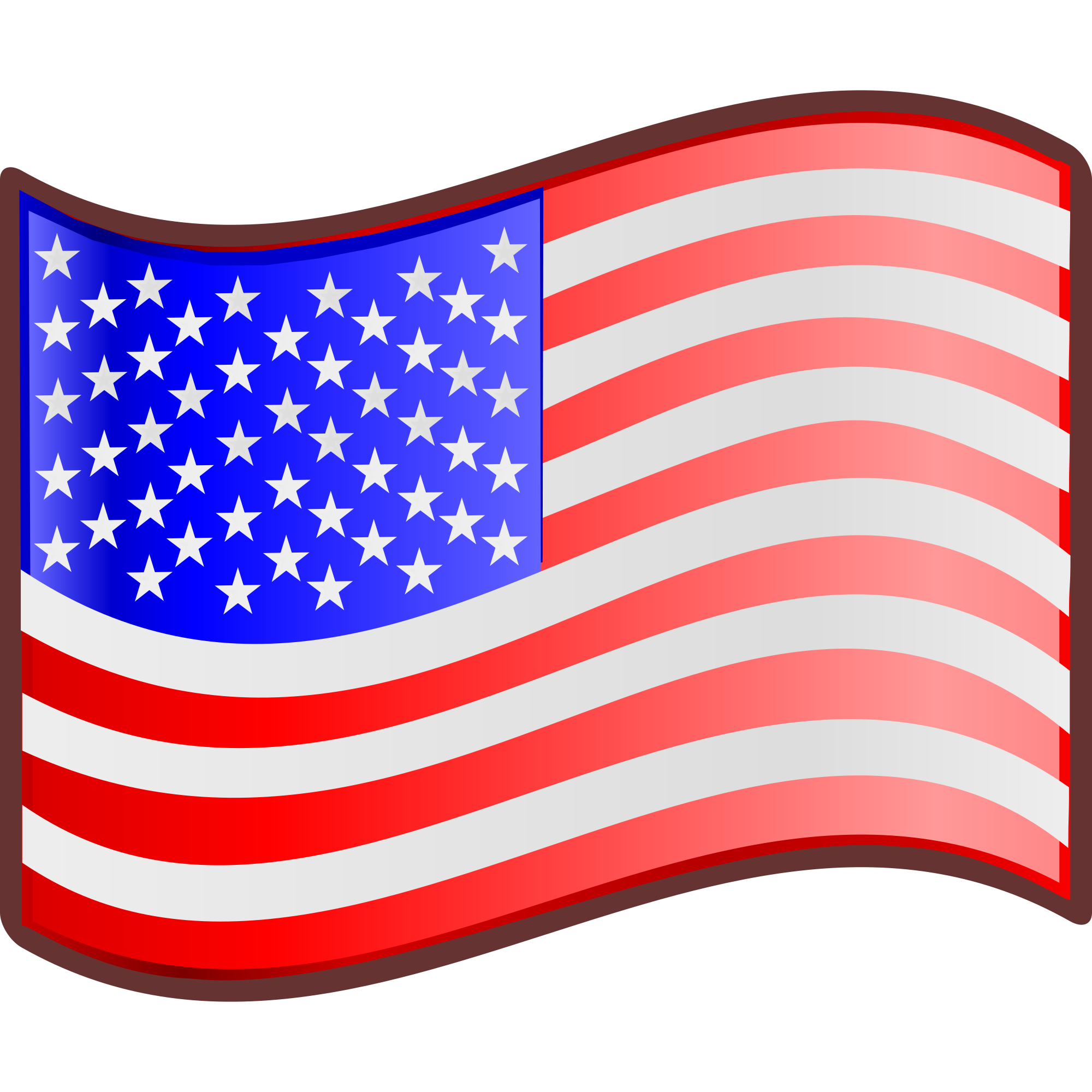 Flag of united states clipart png transparent File:Nuvola USA flag.svg - Wikimedia Commons png transparent