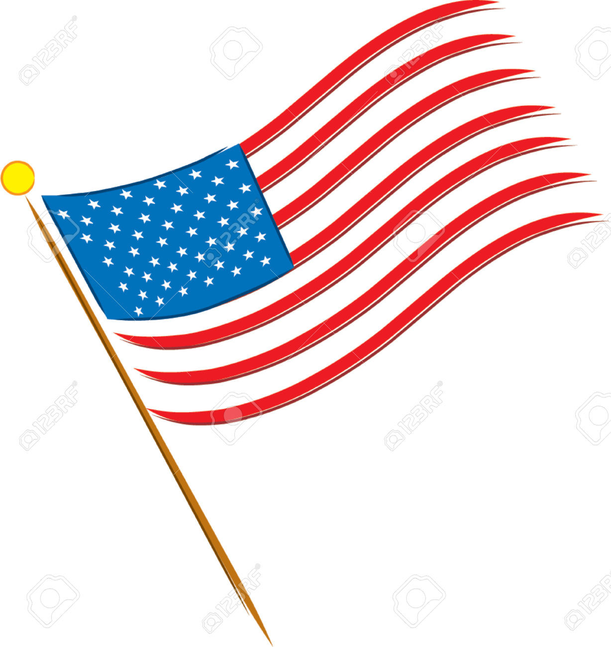 Flag of united states clipart banner free stock United states clipart no background - ClipartFest banner free stock