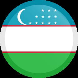 Country flags . Flag of uzbekistan clipart