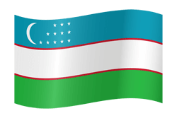 Flag of uzbekistan clipart. Country flags