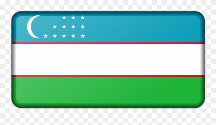 Flag of uzbekistan clipart clip free Flag Of Uzbekistan Clipart (#2496491) - PinClipart clip free