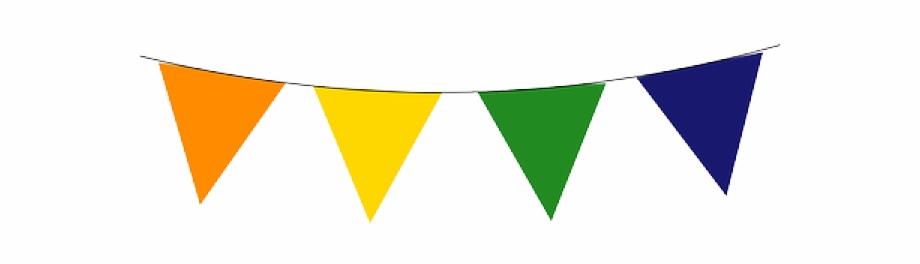 Flag pennant clipart banner free stock Transparent Flag Banner Clipart - pennant banner png, Free PNG ... banner free stock