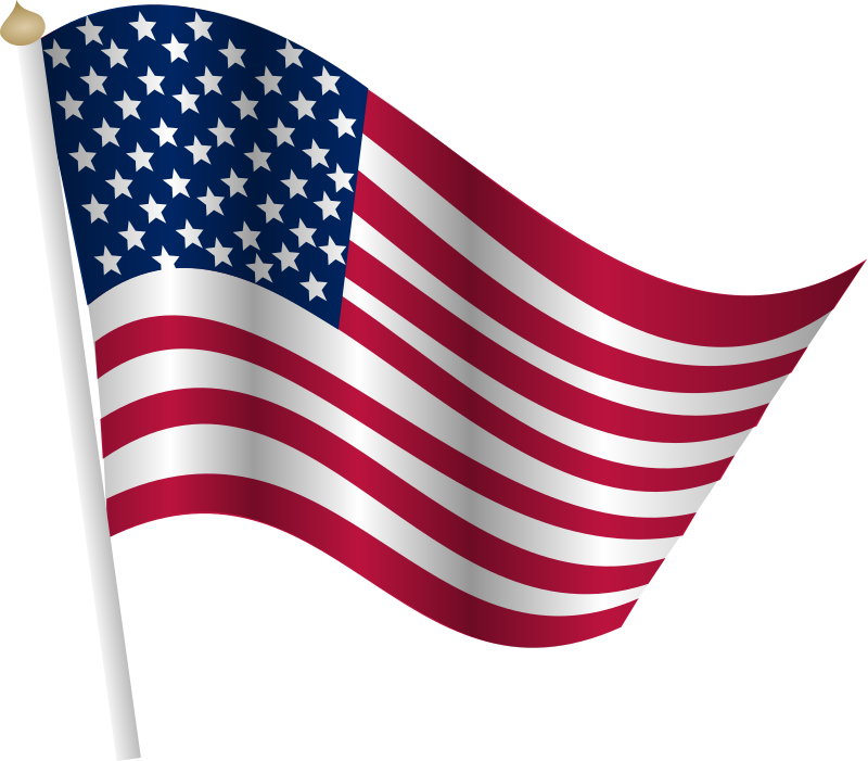 American clip art free. Flag with cross clipart