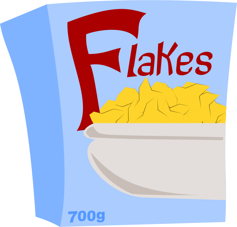 Flakes clipart graphic black and white download Free Clipart: Special Flakes   stevepetmonkey graphic black and white download