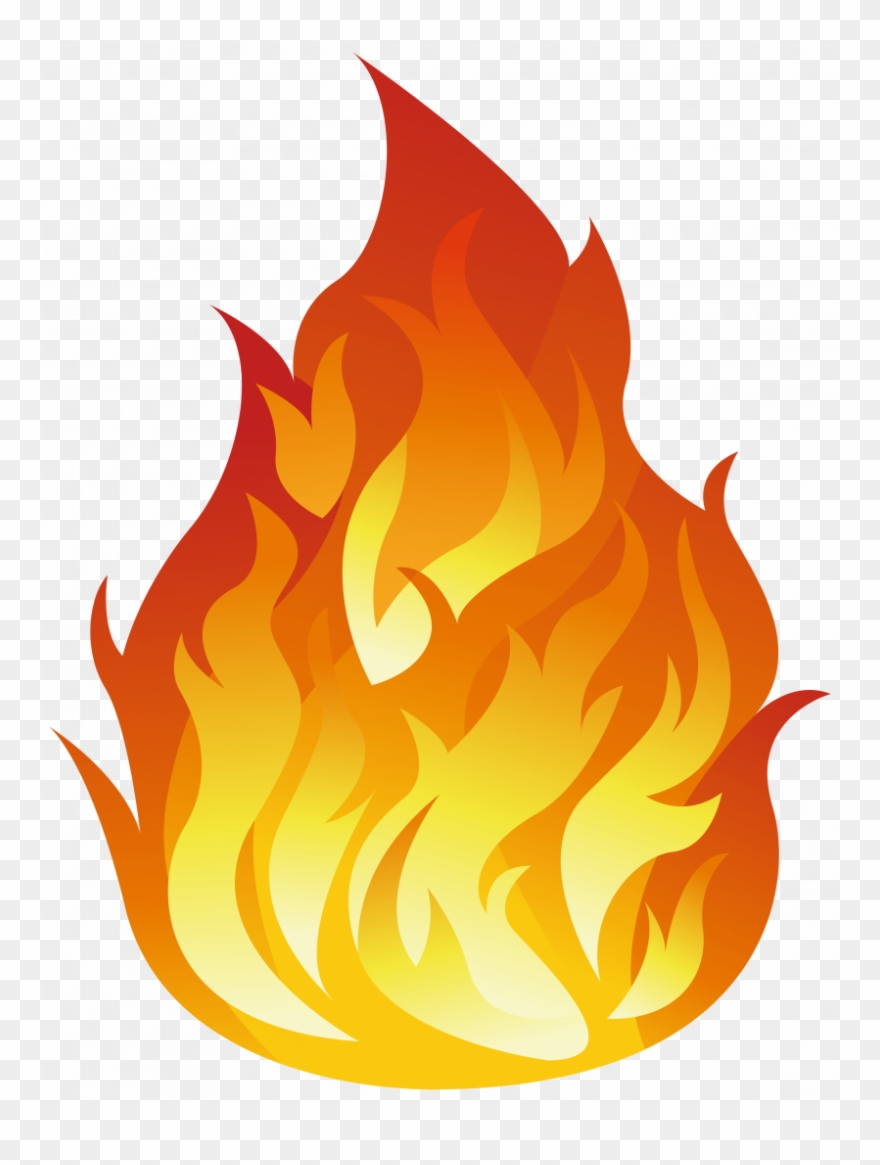 Dove transparent fire icon. Flame background clipart