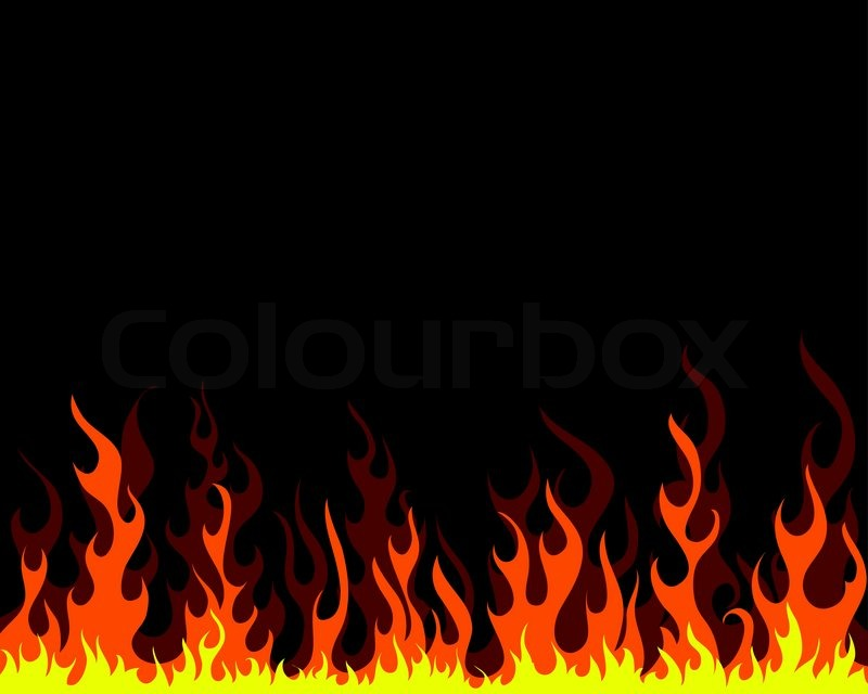 Flame background clipart clipart black and white library Flames background clipart 5 » Clipart Station clipart black and white library
