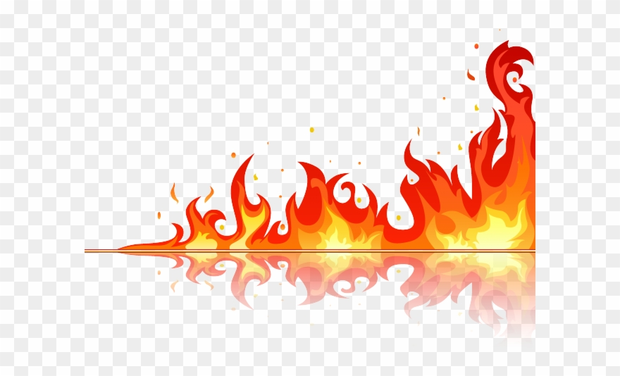 Flame background clipart picture library download Flame Clipart Blaze - Background Red Fire Png Transparent Png ... picture library download