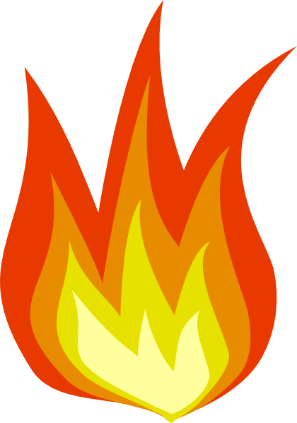 Flame cartoon clipart image library download Fire Flame Cartoon | Clipart Panda - Free Clipart Images image library download