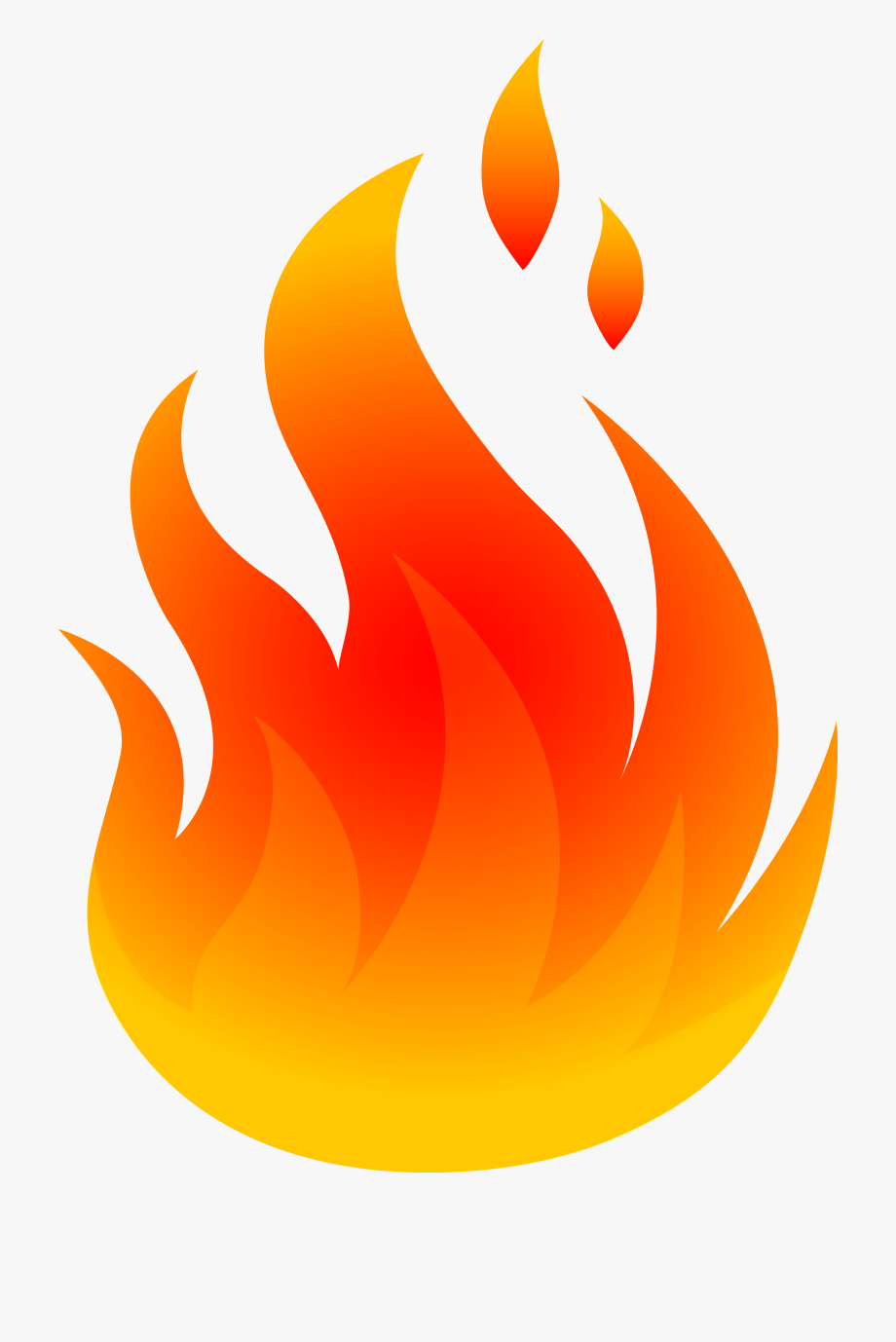 Flames clipart free clip black and white Fire Flames Clipart Free Clipart Image - Flame Clipart #4572 - Free ... clip black and white